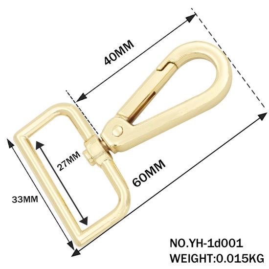 Shoulder Strap Buckle Bag Accessories Snap Hook for Handbag