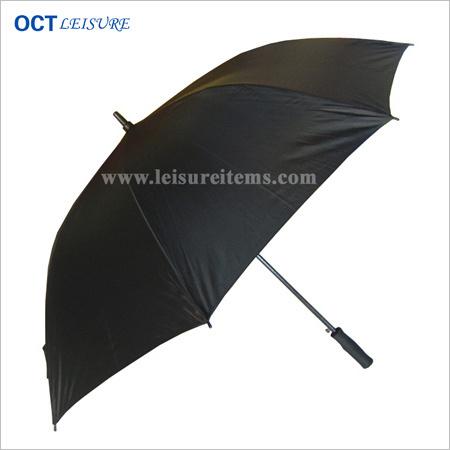 Classic Black Golf Umbrella with Fiberglass Frame (OCT-G10H)