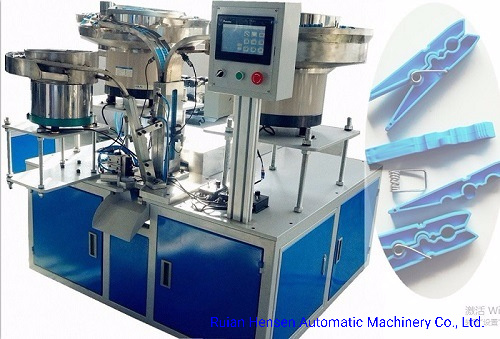 Full Automatic Cloth Peg Assembly Machine