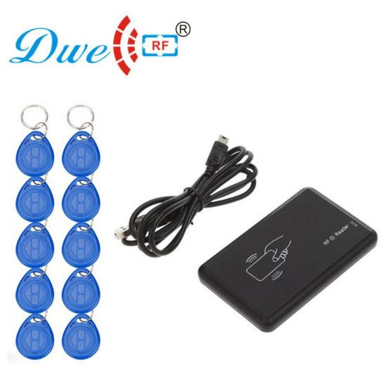 RF Card 125kHz RFID Reader Writer Copier Duplicator Cloner USB Card  Programmer with 10 Em4305 Keyfob Free