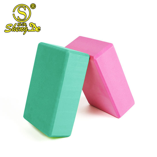 Fitness Sport Eco-Friendly Fashion Organic 3*6*9 EVA Foam Yoga Block