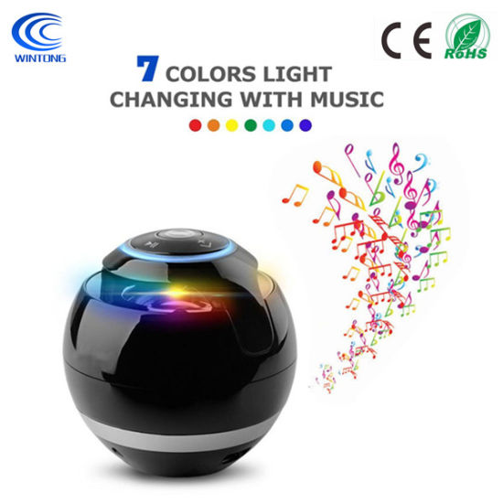 Mini Portable Bluetooth 4.0 Speaker with Mic, 3.5mm Aux, FM Function, Micro SD Card Support pictures & photos