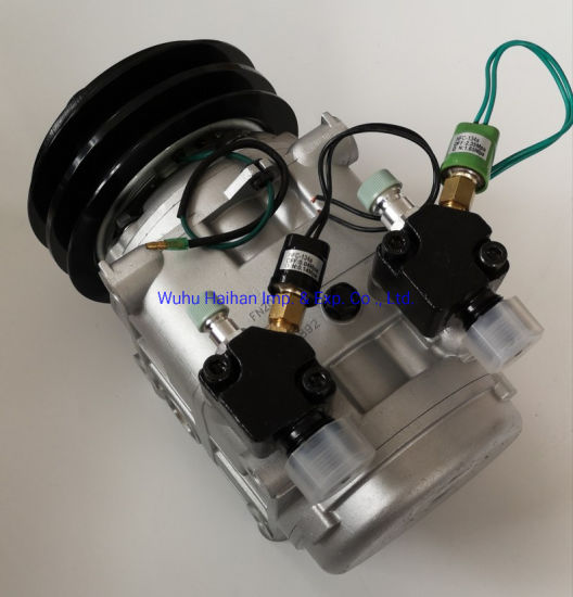 China Manufacturer Auto Air Conditioner Compressor with Clutch 2b 24V