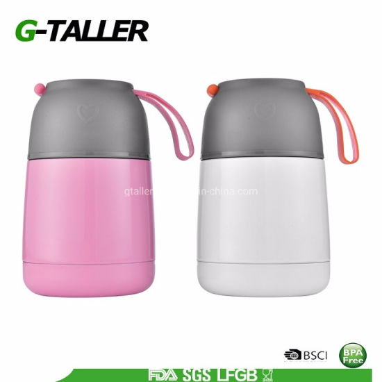 Vacuum Insulated Stainless Steel Food Jar Flask for Hot/Cold Food