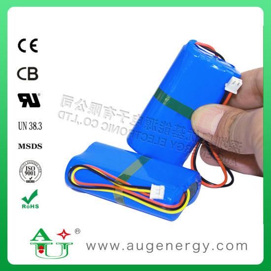7.4V 2000mAh 18650 Lithium Ion Battery Pack Power Tools Li-ion Battery