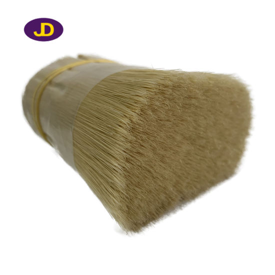 Jd Smart a Natural White Bristle Imitation Synthetic Filament for Paint Brush pictures & photos