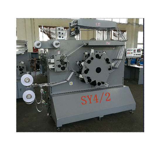 High Speed Automatic Fabric Label and Satin Ribbon Printing Machinery