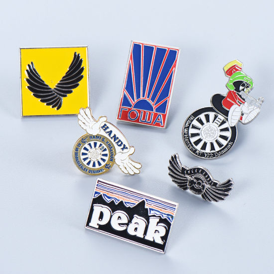 Promotional Items Metal Hard Soft Enamel Souvenir Badge Pins for Promotion Gift with Your Logo