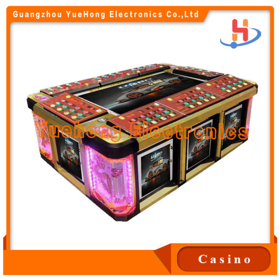 Factory Direct Selling Lets Go Fishing Golden Legend Fishing Game Machine for Casino