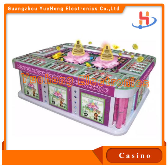 100% Holding High Profitable Business Multi Players Go Fishing Slot Game Machines