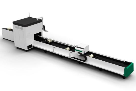 Factory direct low price 6m 1500W aluminum brass iron steel pipe tube CNC metal fiber laser cutting machine