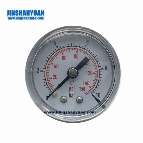 Good Price Micro Stainless Steel Liquid Water Filled Pressure Gauge pictures & photos