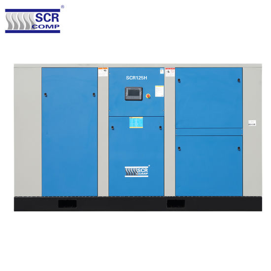 2019 Hot Sale Large Power Direct Driven Screw Air Compressor (SCR150II) Multi Safety Protection High Quality German Centrifugal Fans pictures & photos