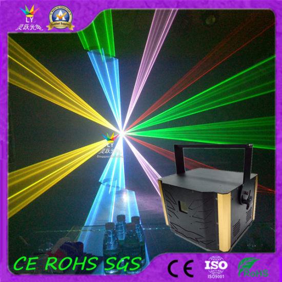 Ce RoHS 8W Single Green DJ Disco DMX Laser Light (LY-1008Z)