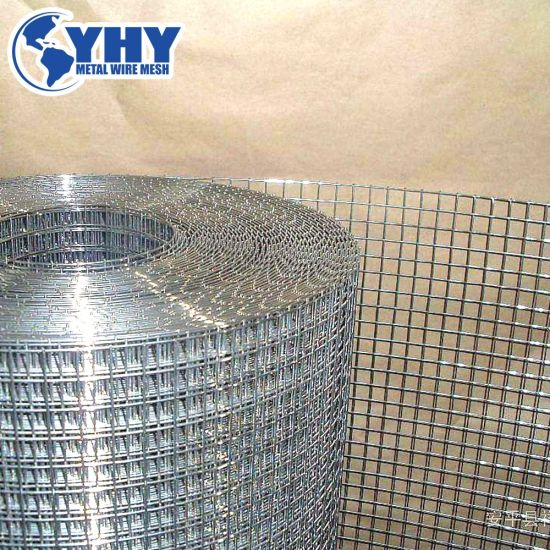 China 1 2 X1 2 Carbon Steel Galvanized Welded Wire Mesh China Welded Mesh Welded Wire Mesh