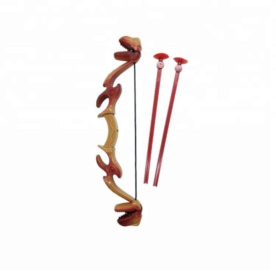 Popular Plastic Bow and Arrow with Dinosaur Grabber Toy