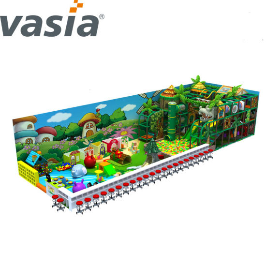 China Commercial Sea Theme Coconut Tree Park Playground Swing