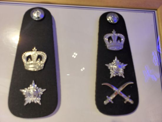 Senior Epaulette Officer Military New Quality Shoulder Board