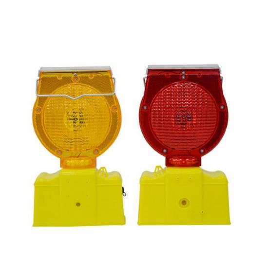 Traffic Safety Solar Barricade Warning Light