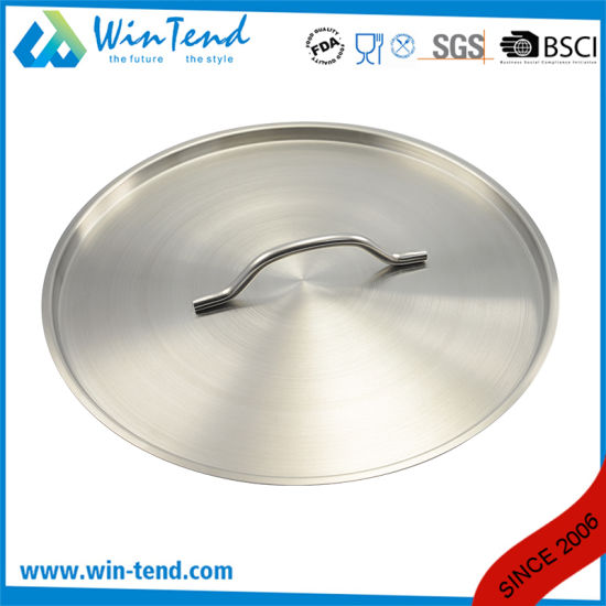 03 Style Stainless Steel Kitchen Equipment Steamer Induction Stock Pot with Sandwich Bottom pictures & photos