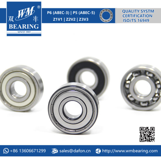 Auto Motorcycle Parts Electric Motor Deep Groove Ball Bearing (6302) pictures & photos