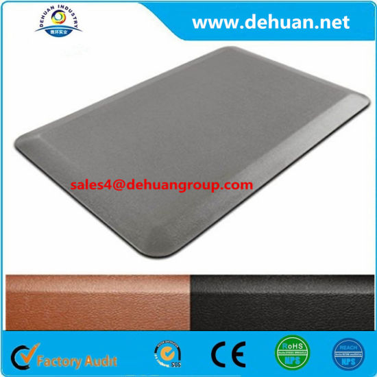 PU Anti-Fatigue Anti Slip Kitchen Rubber Flooring Mats Sheeting Matting pictures & photos