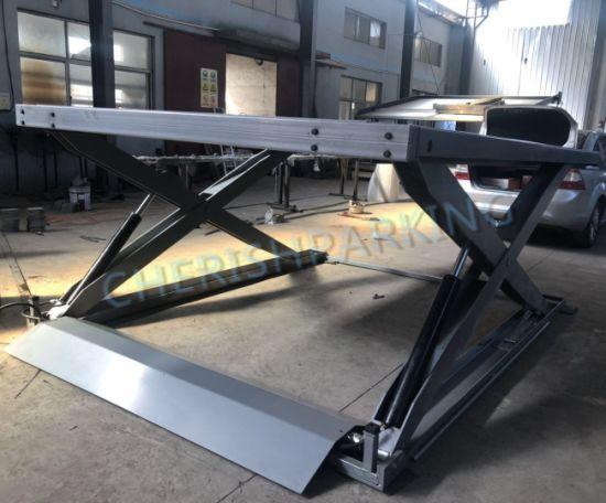 Supply Level Two Hydraulic 2700kgs Scissor Car Parking Lift
