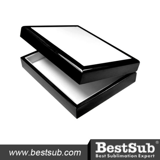 "Bestsub 6""*8"" Ceramic Tiled Decoration Photo Wooden Jewelry Box (SPH68BL) pictures & photos"