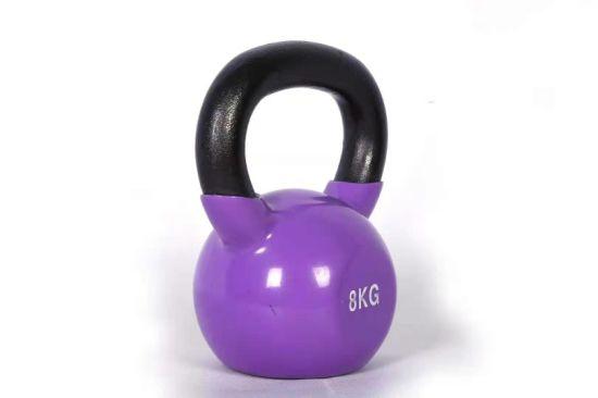 1 LB Purple Cast Iron Kettlebell