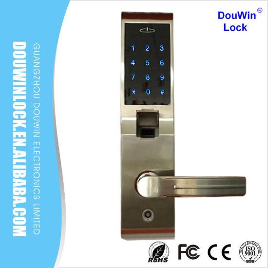 Unique High Security Biometric Touch Screen Fingerprint Door Lock Top Design - Model Of high security door locks Simple