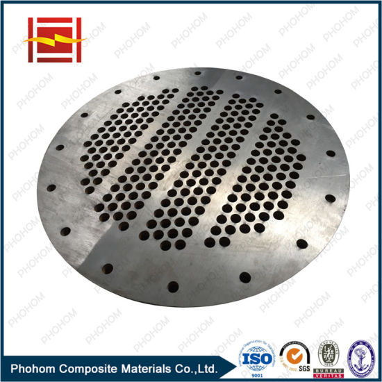 Explosive Clad Metal Titanium Plate for Pressure Vessel / Titanium Cladding Plate pictures & photos