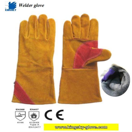Golden Cow Split Leather Welding Work Glove (Welding Glove)