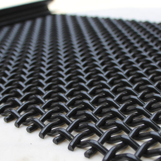 Amazon Ebay's Choice Copper Galvanized Stainless Steel Plain Weave Crimped Square Wire Mesh