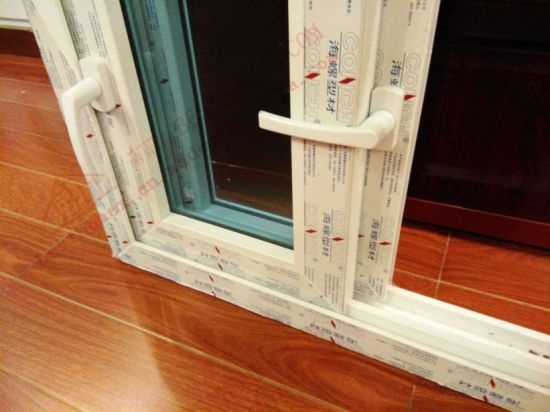 UPVC Sliding Window with Transmission Lock (BHP-SW07) pictures & photos