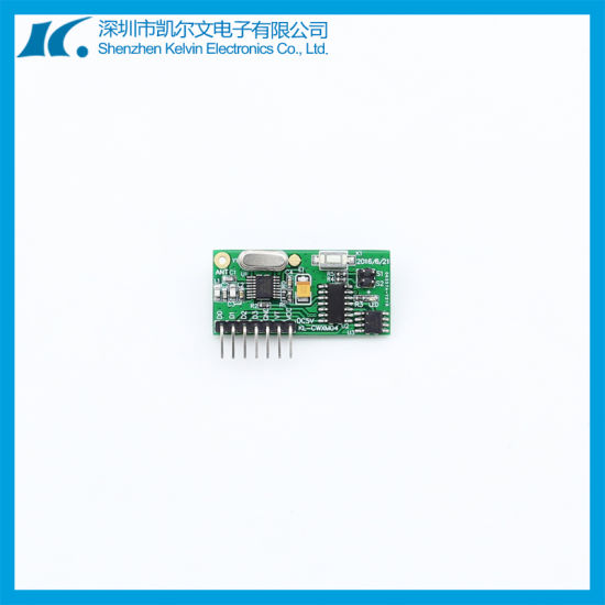 Super Heterodyne High Sensitivity RF Receiver Module Kl-Cwxm04 pictures & photos