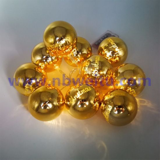 Wholesale Price Christmas Decoration LED Ball Garland String Light pictures & photos