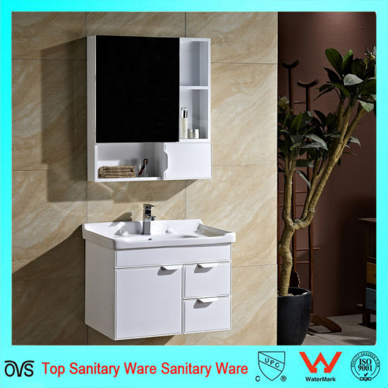 Cheap Solid Wood Bathroom Sink Base Cabinets