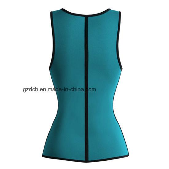 f9f42ce566 China Neoprene Ultra Sweat Sport Body Shaper Slimming Zipper Vest ...