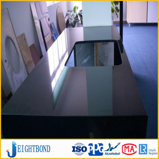 Black Stone Marble Aluminum Honeycomb Panel For Kitchen Countertops