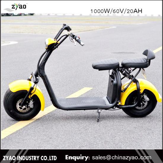 China Best Selling 1000 W E Bike Big Wheels Harley Tire Electric