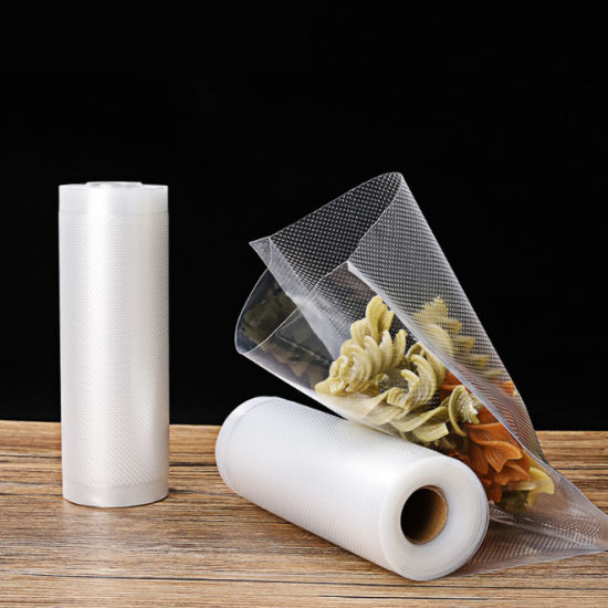 Vacuum Sealer Bags Rolls Lines Nylon Food Storage Plastic Sealer Packing Pouches