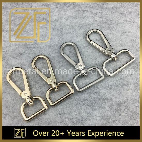 Custom Sizes & Color Metal Swivel Dog Snap Hook for Bag/Luggage/Garment