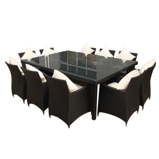 New Arrival Excellect Handcraft Popular Rattan Chairs Dining Sitting Room Outdoor Furniture Chair Table Set
