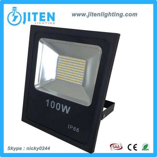 SMD5730 Epistar Chip, Ra>80 PF>0.95 100W LED Flood Light