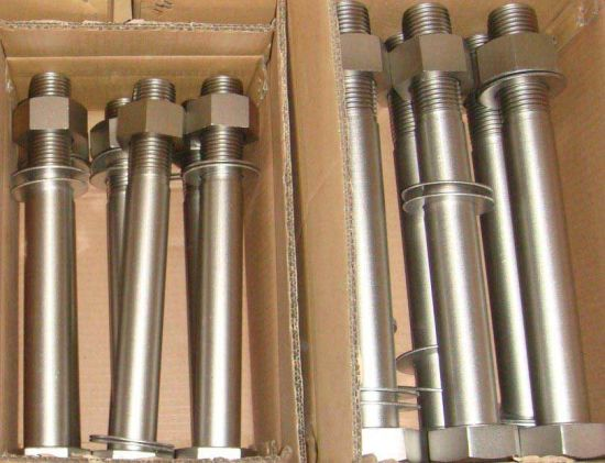 A2 A4 Stainless Steel DIN933 DIN931 ASME Heavy Hexagon Bolt with Nut ISO Certificated