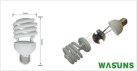 CFL T2 Half Spiral 26W E27 6500k Bulb Lights pictures & photos