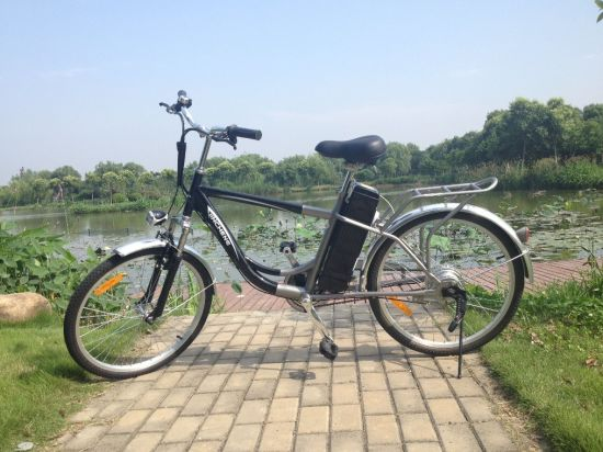 Lithium Battery Electric Mountain Bike with Colour pictures & photos
