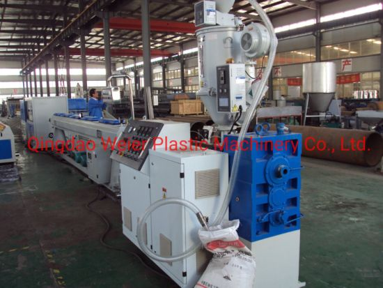 Plastic PPR HDPE PP Pipe Extrusion Machine Production Line/Water Gas Drain Pipe Making Machine