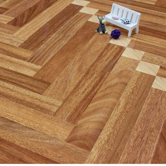 China Brown Core Hdf Material Laminate Art Parquet China Parquet