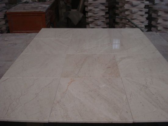 China Mixed Cream Beige Marble For Flooring Lobby Wall Tile